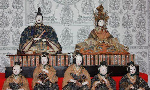 鴨川市観音寺のひなまつり 畠山勇子と大津事件