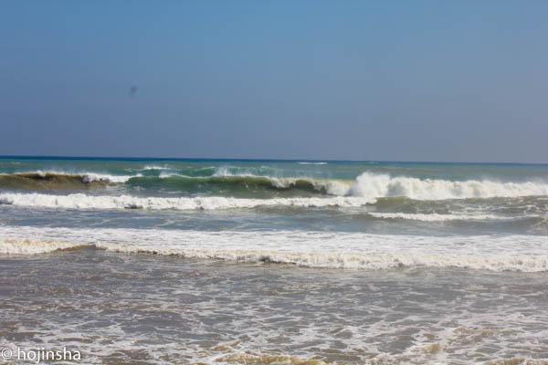 一夜明けたら、海は再びクローズアウト