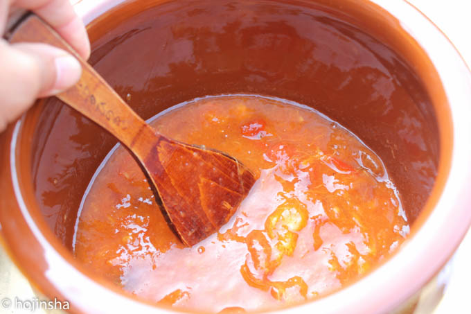 柿酢の作り方 材料は柿だけで簡単に作れます