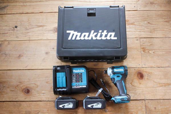 マキタ18Vインパクトドライバー 個別に購入すると激安です