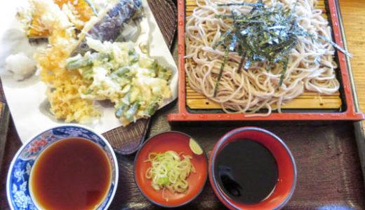 そば和田久(鴨川市)天ぷらが美味しいお蕎麦屋さん